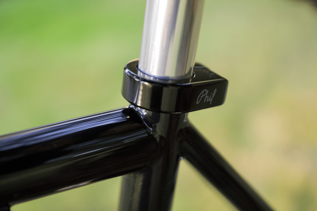 Carl Strong Road Racing frame coming along... || blog.peterlombardi.com