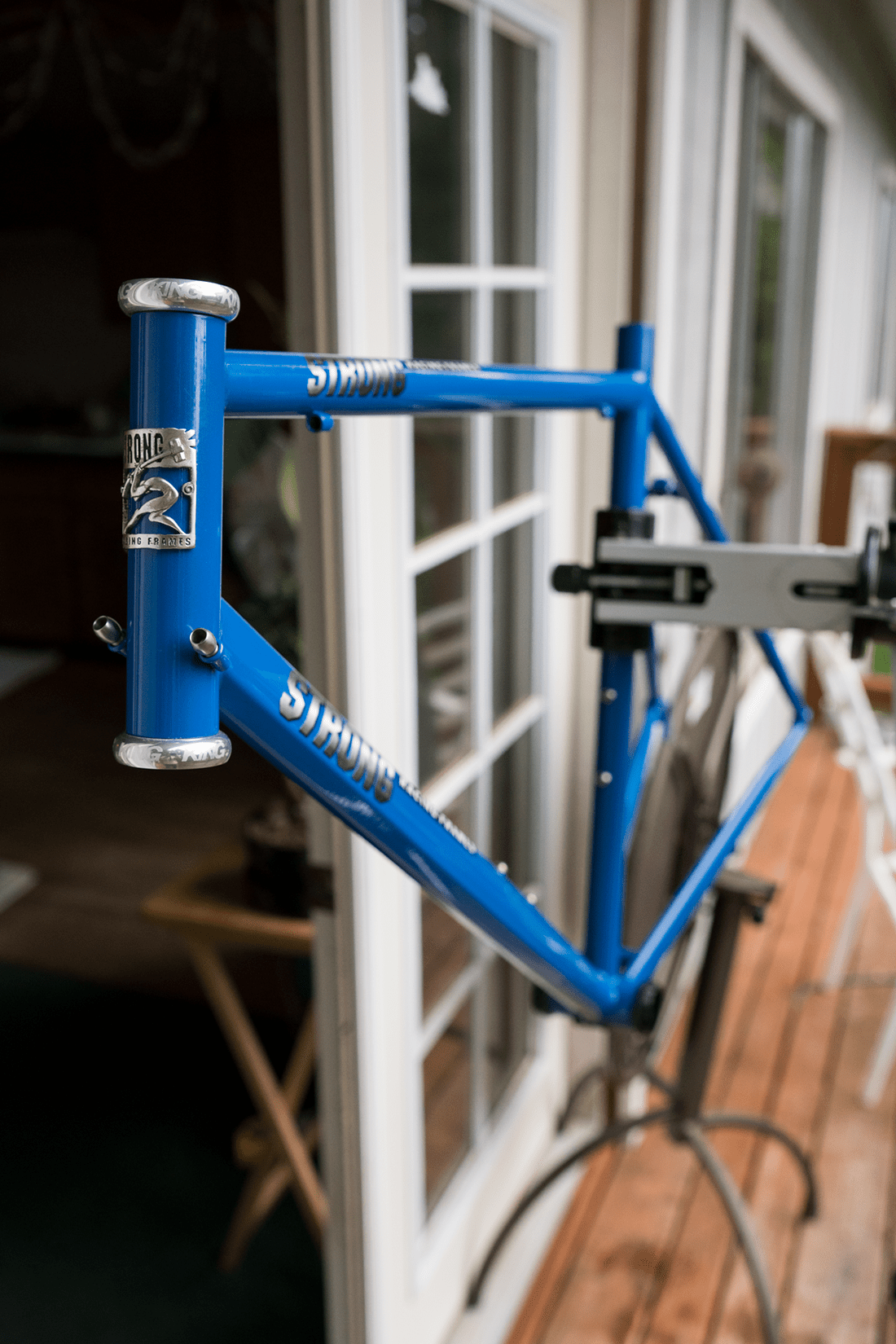 a new Carl Strong Foco Racing Frame… || blog.peterlombardi.com
