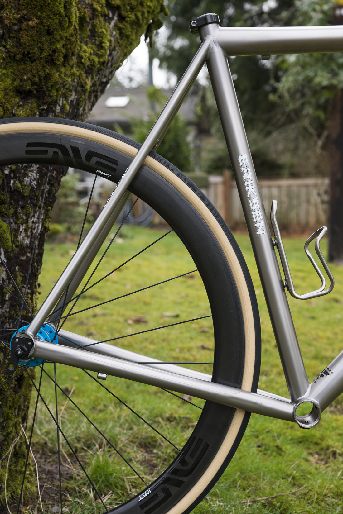 New Frameset, 2014 Custom Eriksen Titanium Road…