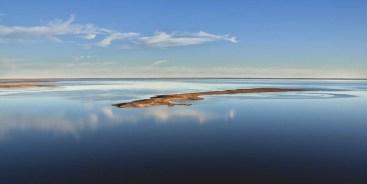 Silcrete Island - Lake Eyre -2010