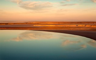 Reflections - Lake Eyre