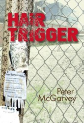 Hair Trigger Mystery Novel Book Cover