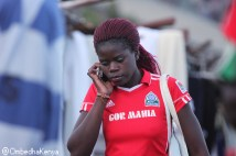 Gor Mahia fun making a call