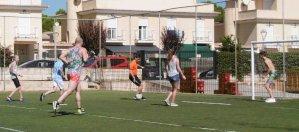 Voetbalwedstrijd……
