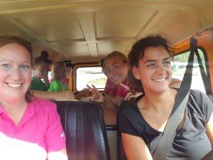 Passend vervoer met de jeep