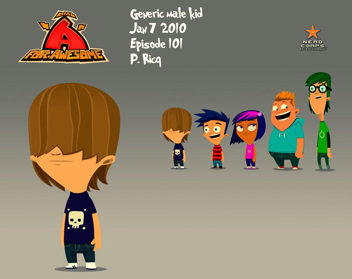 Generic Male Kid – The first generic kid design on the series.