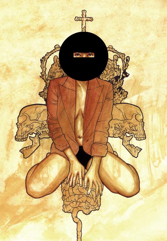 The Noontide - 2010 - Ink on Illustration board