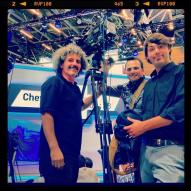 Filming @ Geneva Motor show