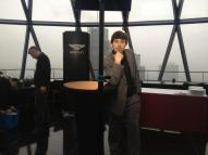 Bentley financial result at the top of the Gherkin