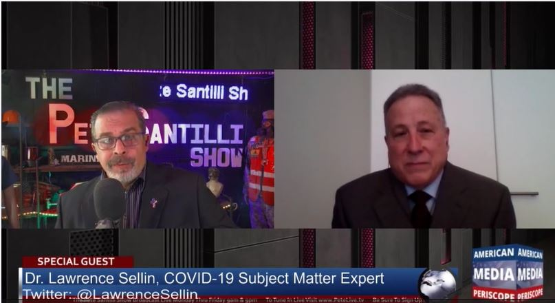Dr. Lawrence Sellin Interview with Pete Santilli on 5/24/2021