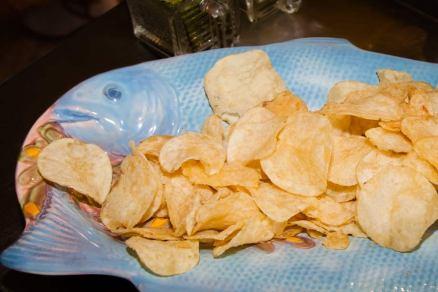 Chips mit Austerngeschmack