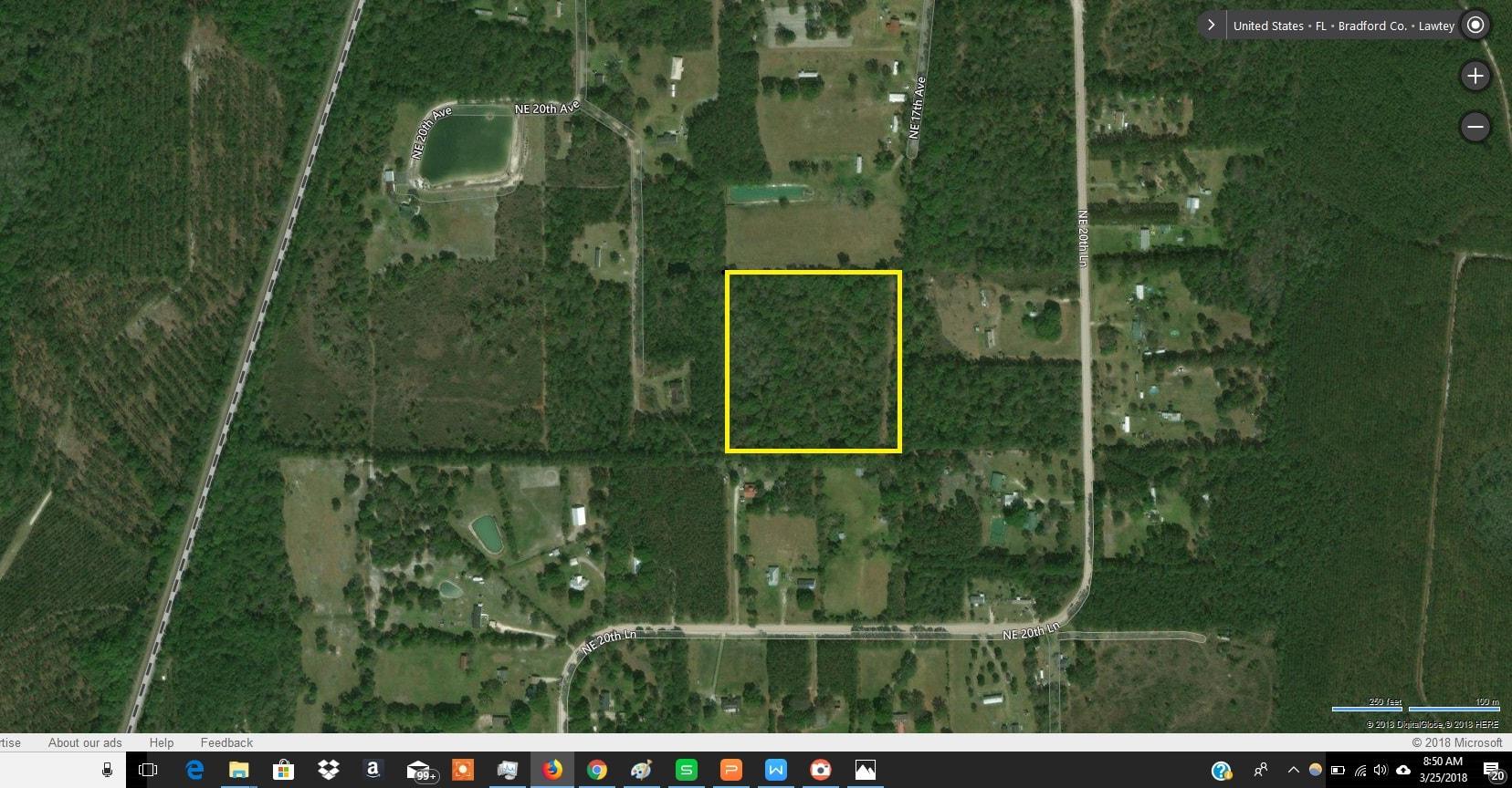 Lawtey, Bradford County, North Central, FL Land For Sale – 10 Acres