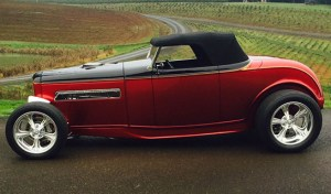 "1932 Ford Convertible – ""The Rail"""