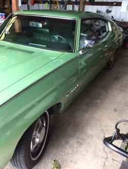 1970 Chevrolet Chevelle Green