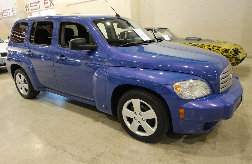 2008 Chevy HHR Blue