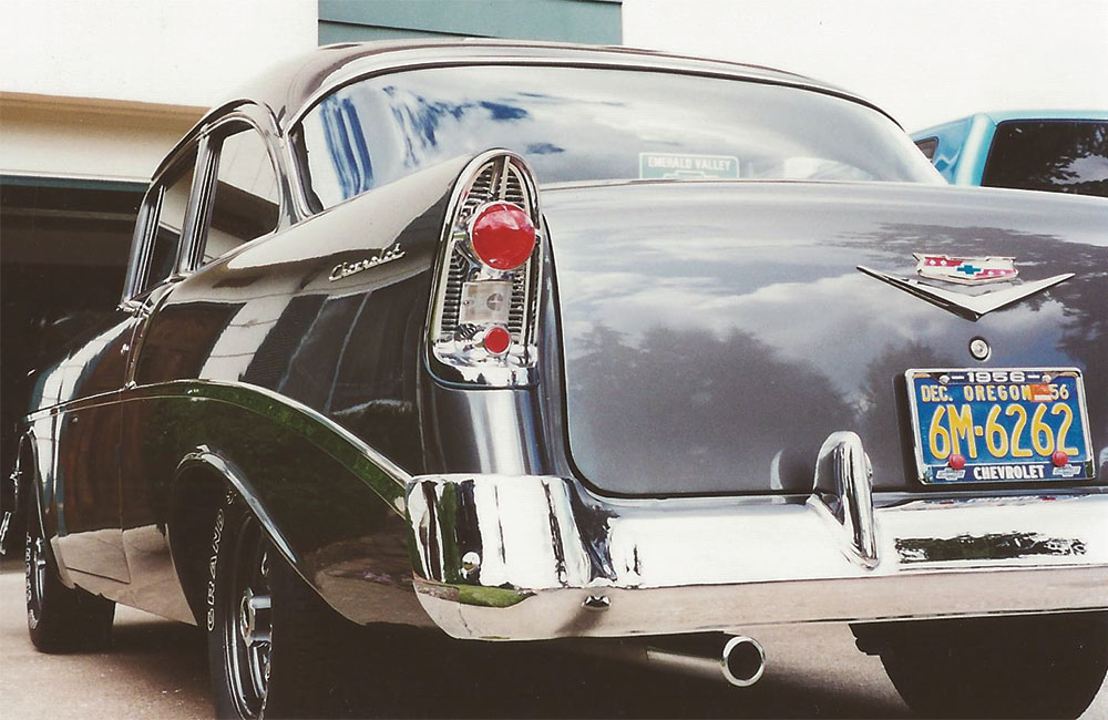1956 Chevy 210 2 Dr Post