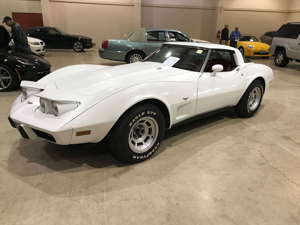 1979 Chevrolet Corvette White
