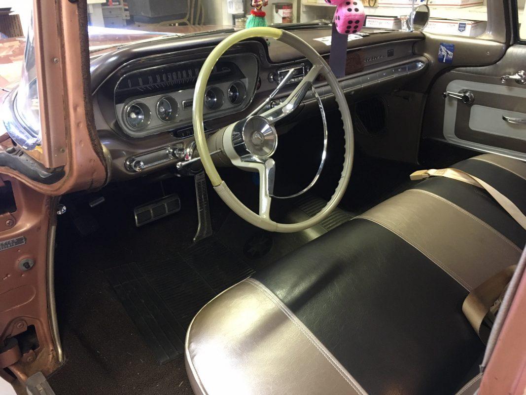 1960 Pontiac Station Wagon  9 passenger