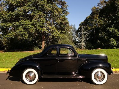 1940 Ford 2 door 5 window Coupe