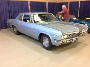 1966 Chevrolet Impala 2 door Hardtop Blue