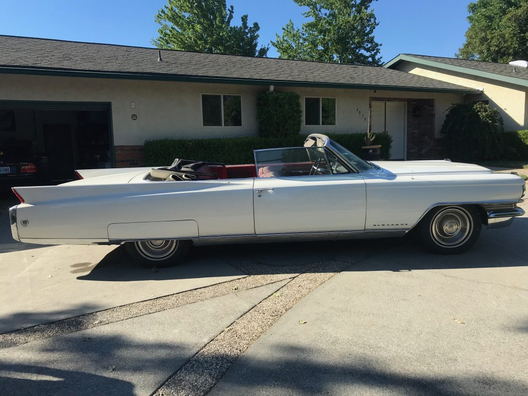 1963 Cadillac El Dorado Convertible White