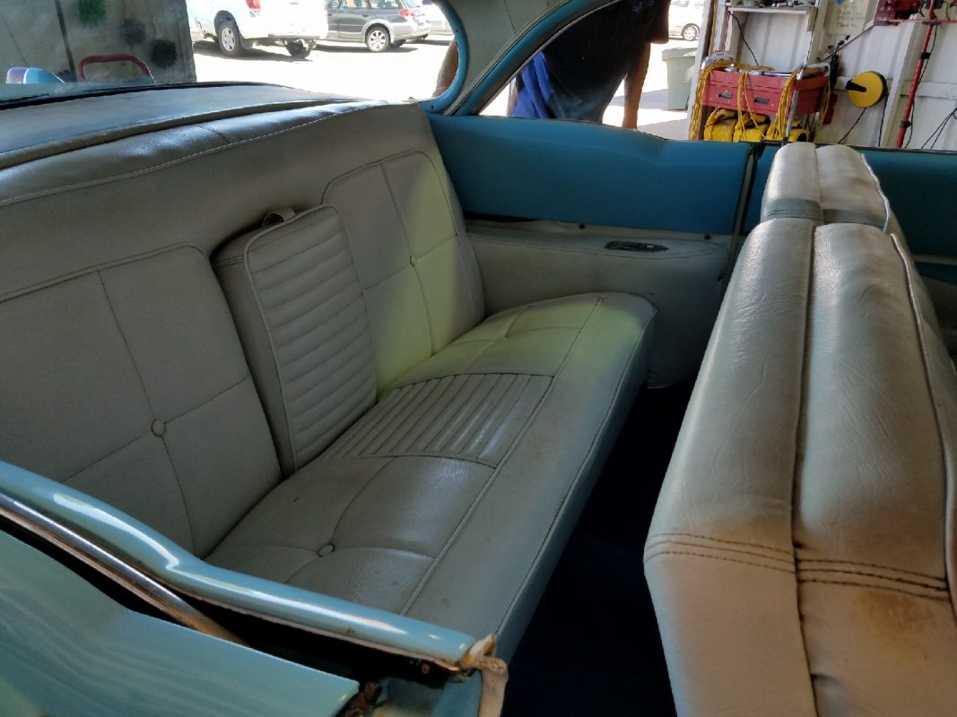 1955 Cadillac 62 Series Robin Egg Blue