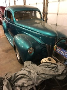 1940 Ford 2 door Coupe