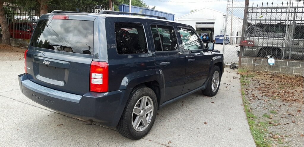 2008 Jeep Patriot Sport Blue