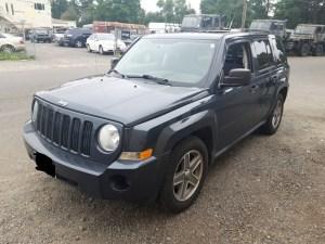 2008 Jeep Patriot Sport Blue