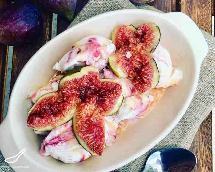 Roasted Figs Honey