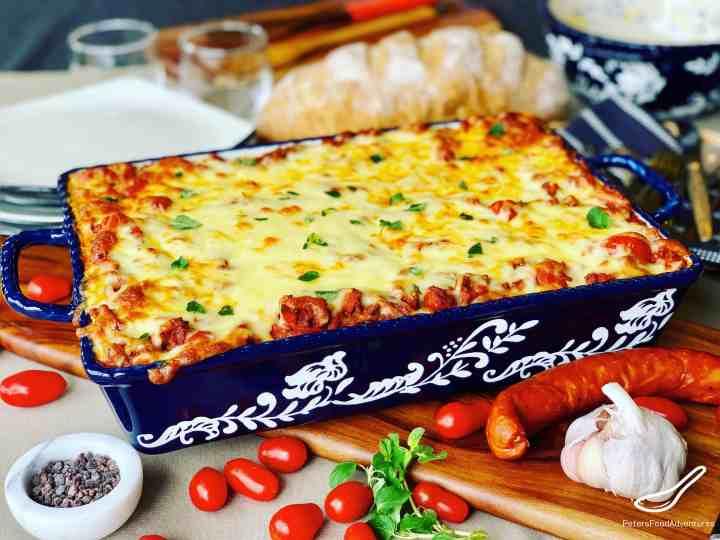 Meat Lasagna Recipe With Chorizo Peter S Food Adventures
