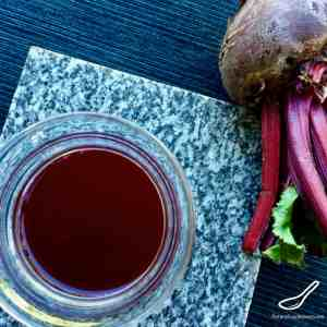 Russian Beet Kvass (Свекольный квас) is a Russian probiotic drink made with fermented beets, taken like a tonic. An authentic Russian recipe full of nutrients and vitamins with amazing immune boosting properties.