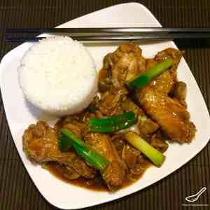 Chinese Chicken Wing Stir Fry