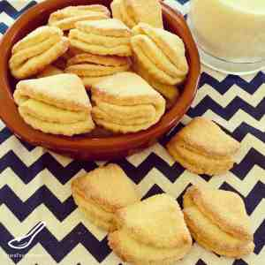 "Easy and delicious Farmers Cheese Cookies, made with Tvorog, Quark or even Cottage Cheese. I love this recipe ""Goose's Feet Cookies "" (Гусиные Лапки) - Farmer's Cheese Cookies"