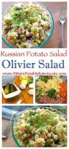 Olivye Salad - Russian Potato Salad