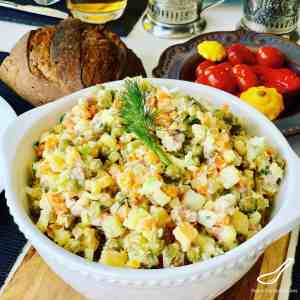 Olivier Salad – Russian Salad Recipe
