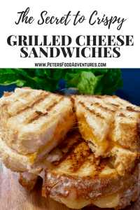 This is the best tasting secret! An easy tip that tastes better and makes your life easier! The Secret to Easy Crispy Grilled Cheese Sandwiches or Grilled Toasties