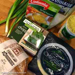 Easy Spinach Dip Australian ingredients