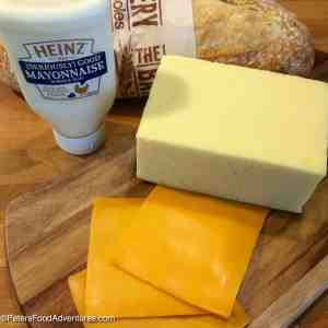 The Secret to Easy Crispy Grilled Cheese Sandwiches ingredients