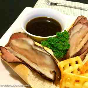 French Dip with Easy Au Jus Recipe