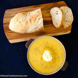 Easy Leek and Pumpkin Soup
