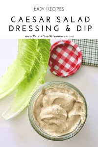 So Easy To Make with fresh garlic, anchovies, dijon, eggs, olive oil and more. Perfect for a Caesar Salad or a Vegetable Dip. A Little Goes A Long Way. Homemade Classic Caesar Salad Dressing From Scratch