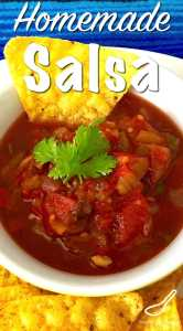 Full of flavour and the perfect recipe for your garden fresh tomatoes and chili peppers. Ideal with nachos! Fresh Homemade Canning Salsa Recipe