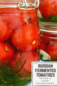 This traditional way of preserving or fermenting tomatoes has been used in Russia for hundreds of years, with lacto-fermentation and probiotics. From my babushka to your kitchen! Fermented Pickled Tomatoes (солёные помидоры)