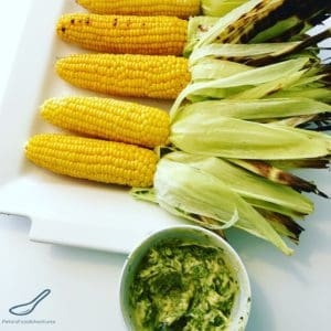 Just in time for summer entertaining. Grilled BBQ Corn on the Cob with fresh herb butter. Easy to make and full of flavour!