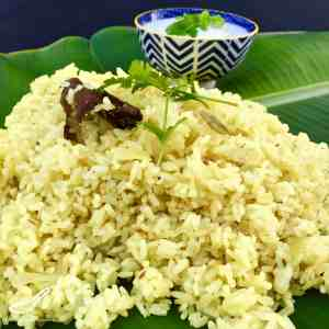Spiced Indian Rice Recipe
