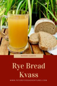 A refreshing Russian summer drink, naturally fermented from Rye bread, chemical free and delicious! Not beer, but delicious Russian Kvass Recipe (Квас)