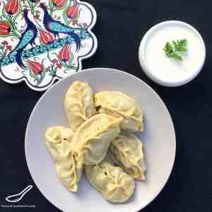 Manti Steamed Dumplings (Манты)