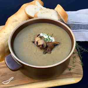Mushroom and Beer Soup