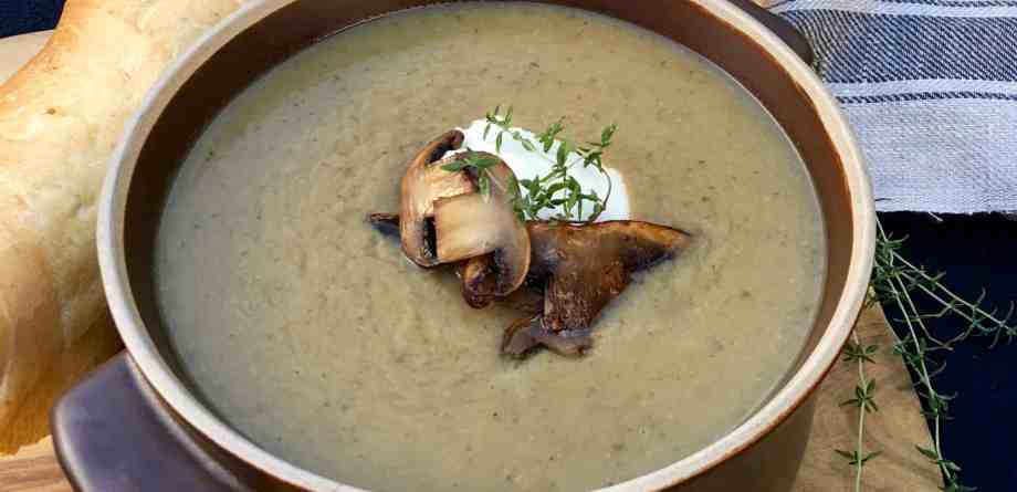 Mushroom and Beer Soup (Грибной Суп)